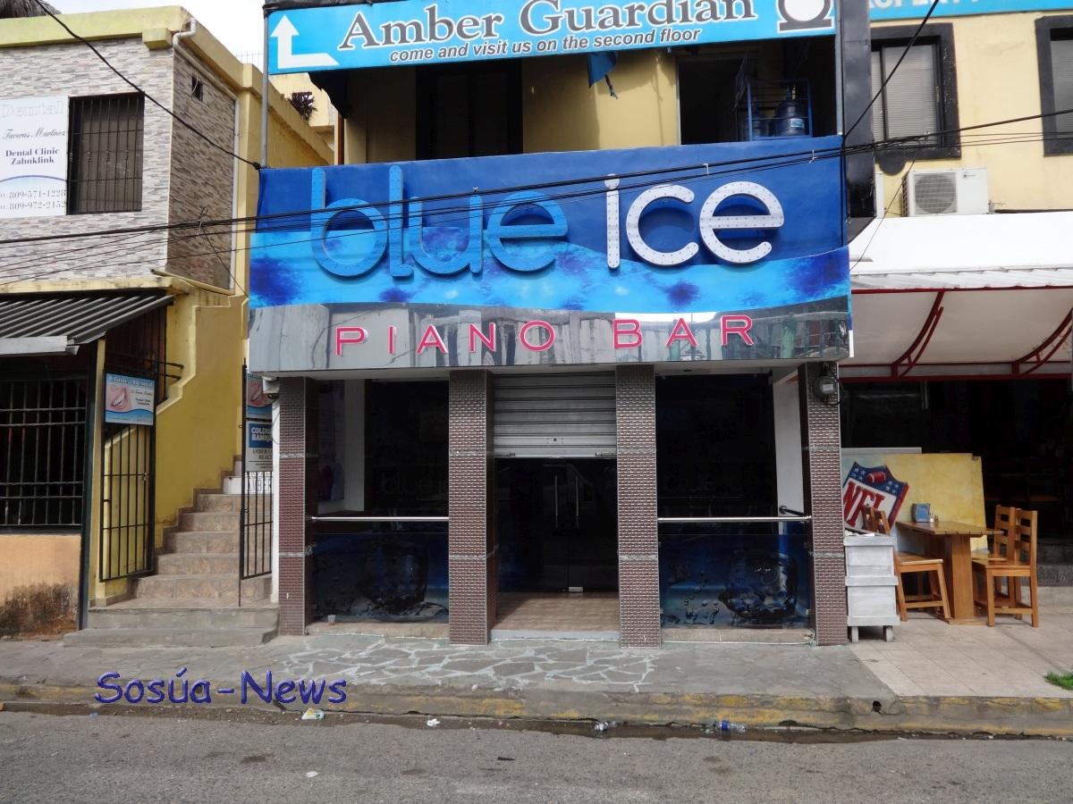 Blue Ice Piano Bar