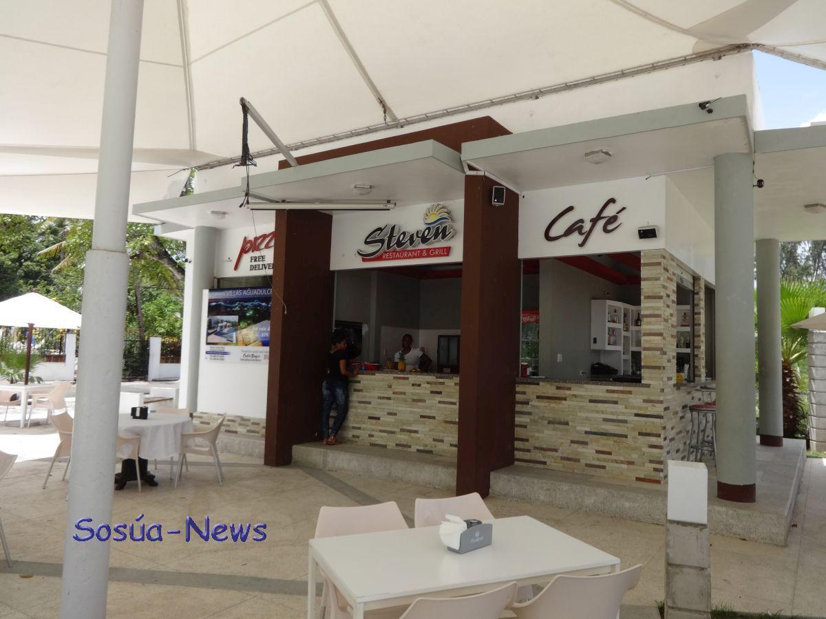 Steven Restaurant & Grill, Café