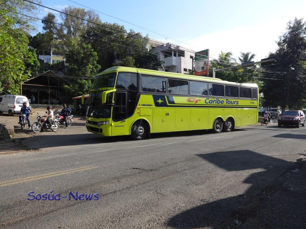 Caribe Tours Bussen