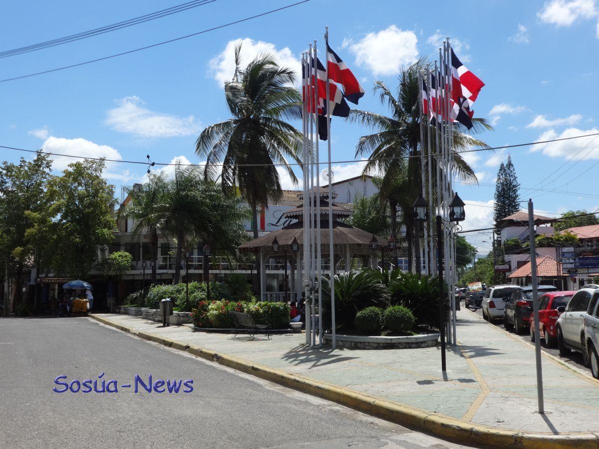 Parque de las banderas, Sosúa