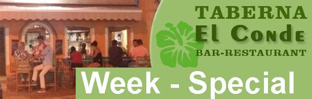 Taberna El Conde - This week's special