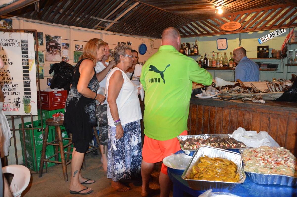 Wedding party at Manni's Schwaben bar