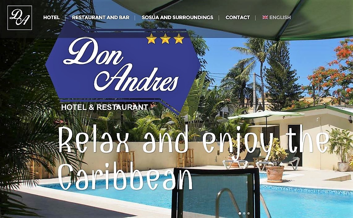 Website Hotel Don Andres